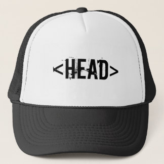 body t-shirt trucker hat