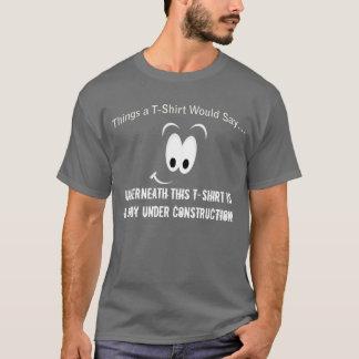 Body Under Construction Dark T-Shirt