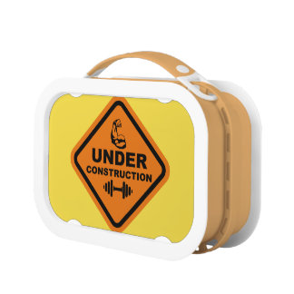 Body Under Construction Lunch Box