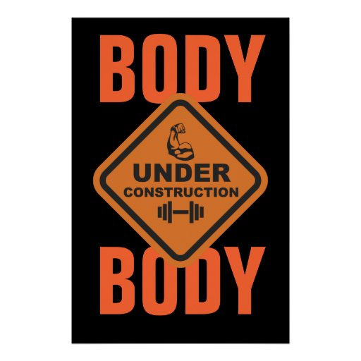Body Under Construction Poster