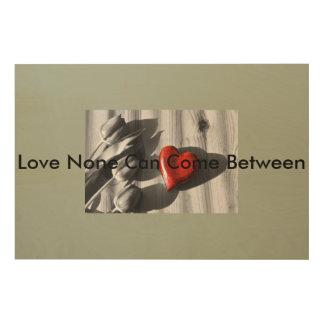 "Body_Universe16 36""x24"" Wood Unconditional Love Wood Wall Art"