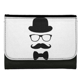 Body_Universe16 Mustache Man Custom Leather Wallet