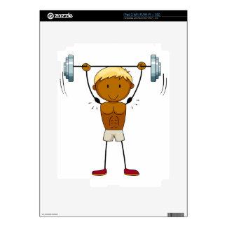 Bodybilder iPad 2 Skin