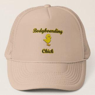 Bodyboarding Chick Trucker Hat