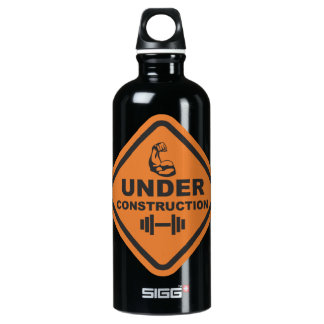 Bodybuilder Aluminum Water Bottle