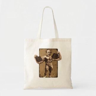 bodybuilder budget tote bag
