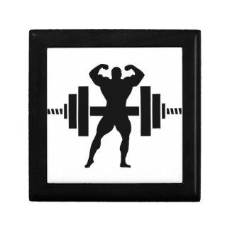 Bodybuilder Cajas De Joyas