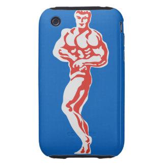 Bodybuilder Carcasa Though Para iPhone 3