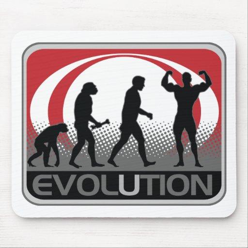 BodyBuilder de la evolución Tapetes De Ratones