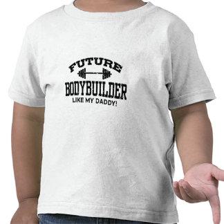 Bodybuilder futuro camiseta