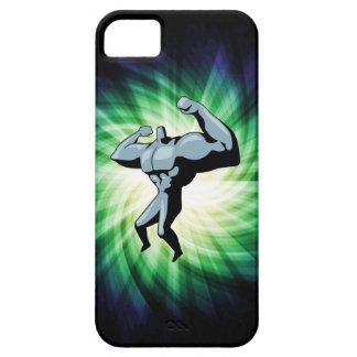 Bodybuilder; green iPhone SE/5/5s case