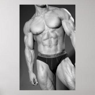 Bodybuilder Gym Wall Health Clug Poster 8