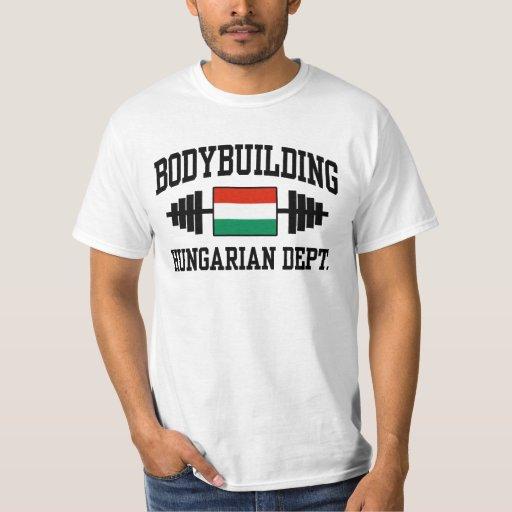 Bodybuilder húngaro remeras