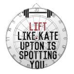 bodybuilder_kate upton dart board
