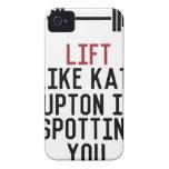 bodybuilder_kate upton iPhone 4 case