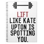 bodybuilder_kate upton notebook