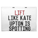 bodybuilder_kate upton placemat