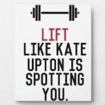 bodybuilder_kate upton plaque