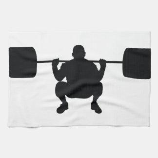 Bodybuilder Hand Towel