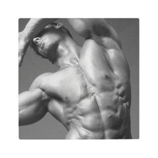 Bodybuilder Metal Print