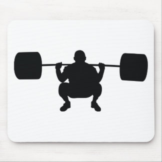 Bodybuilder Mouse Pad