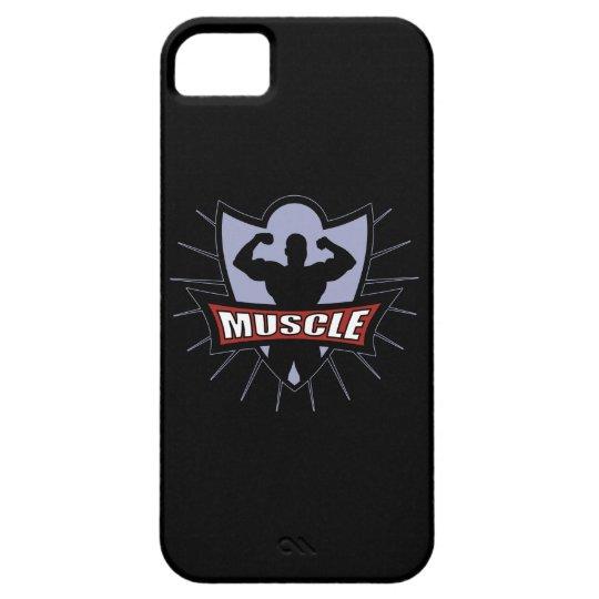 Bodybuilder Muscle Logo iPhone SE/5/5s Case