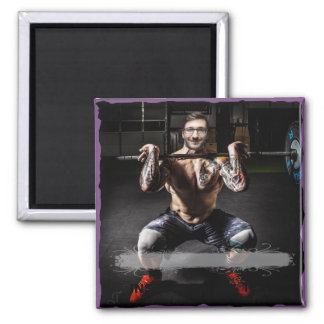 BodyBuilder Muscles Sport Fitness - YOUR Photo - Magnet