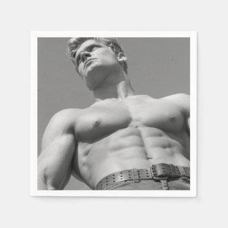 Bodybuilder Napkins