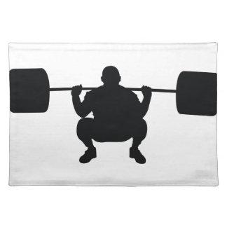 Bodybuilder Cloth Placemat