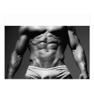 Bodybuilder Postcard - #123
