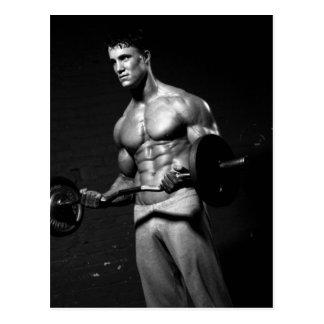 Bodybuilder Postcard 2