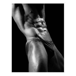 Bodybuilder Postcard 6