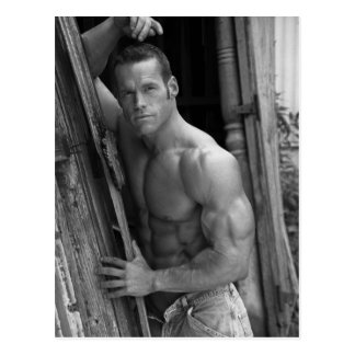 Bodybuilder Postcard 7