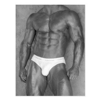 Bodybuilder Poster 80 Postcards