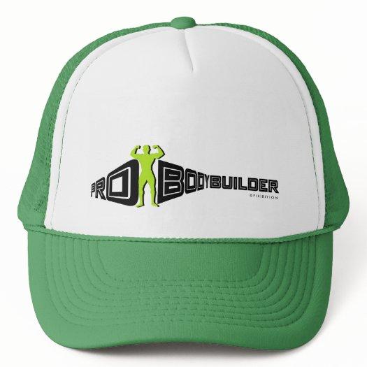 Bodybuilder Pro Green Hat
