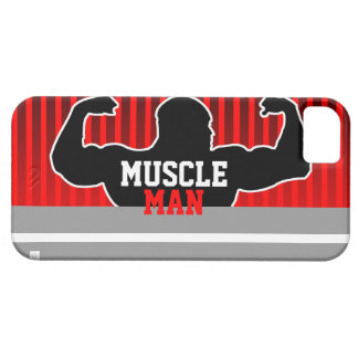 Bodybuilder Red iPhone 5 ID Case iPhone 5 Cover