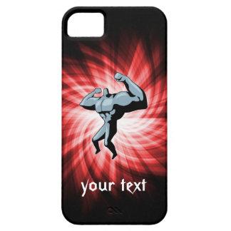 Bodybuilder; red iPhone SE/5/5s case