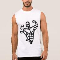 Bodybuilder Sleeveless T-shirt