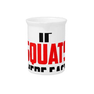 bodybuilder squats pitcher