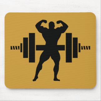 Bodybuilder Tapetes De Raton