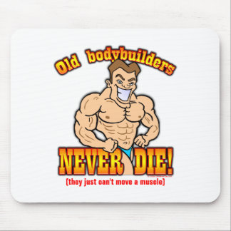 Bodybuilders Mouse Pad