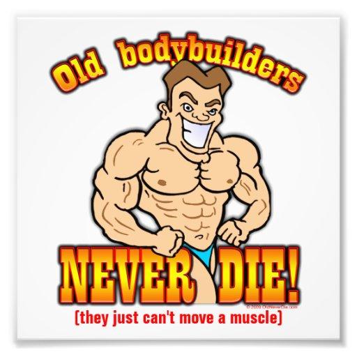 Bodybuilders Photo Print