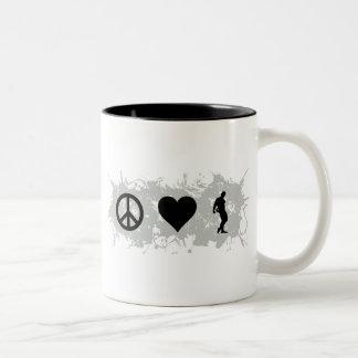 Bodybuilding 3 Two-Tone coffee mug