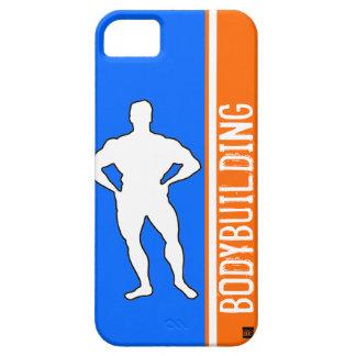 Bodybuilding Blue Orange iPhone 5 ID Case