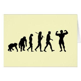 Bodybuilding Bodybuilders evolution fitness sport Card