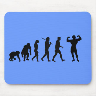Bodybuilding Bodybuilders evolution gifts & tees Mouse Pad