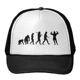 Bodybuilding Bodybuilders evolution gifts & tees Trucker Hat