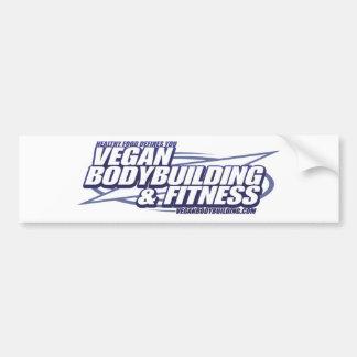 Bodybuilding del vegano de VBB_logo Pegatina Para Auto