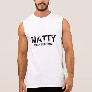 Bodybuilding elegante camisetas sin mangas