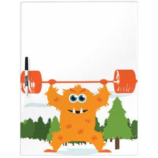 Bodybuilding Fitness Gym Dry-Erase Boards